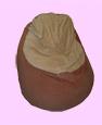 babzsákfotel szabásminta